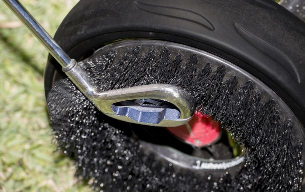Pick up a state of the art WheelyClean Brush. Normally £29.95, today just £19.90!