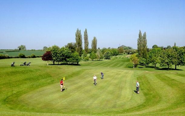 Golf For Two At Stafford Castle Golf Club including a Full English Breakfast Each