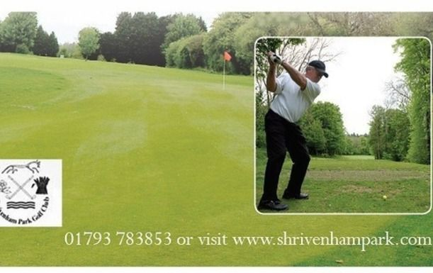 18 Holes of Golf for Two, including a bacon roll and a tea or coffee each at Shrivenham Golf Club (Weekdays)