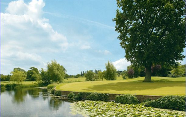 18 Holes Golf For Four With a Lunch or Breakfast at Woolston Manor Golf Club