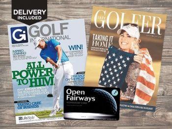 77% off Golf Mag. Subscription + Open Fairways Membership - £29