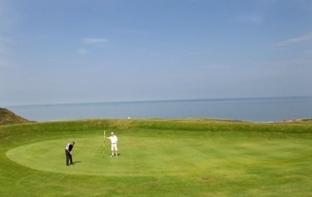 Golf for 2 at The Whitby Golf Club, with stunning coastal views