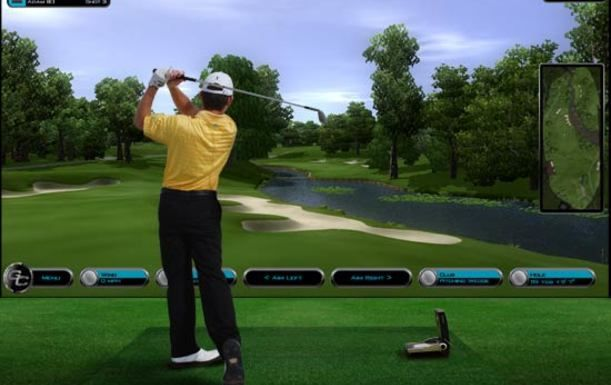 Two Hour State of the art Golf Simulator Experience with Beer or Soft drink each, for up to four golfers at Ferndown Forest Golf Club
