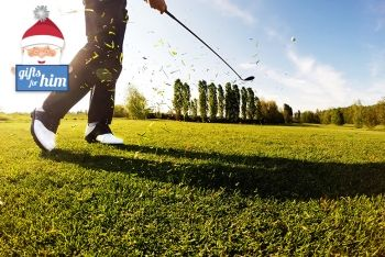£19 for 18 holes of golf for one person with a bacon roll and hot drink, £32 for two people or £54 for four people at West Lothian Golf Club - save up to 52%