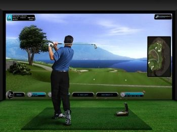 64% off Two-Hour Golf Simulator Experience for up to Four - £29