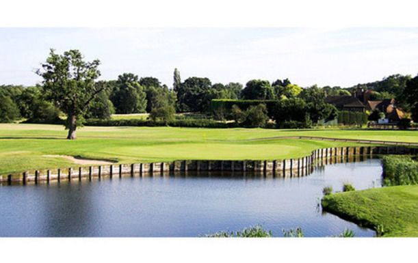 18 Holes of Golf for 4 players in the stunning Surrey countryside at Traditions Golf Club