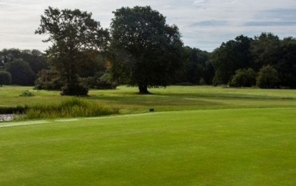 18 Holes of Golf For Four at Ferndown Forest Golf Club including 110 Range Balls each