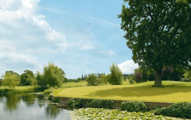 18 Holes Golf For Two with a choice of Lunch or Breakfast at Woolston Manor Golf Club