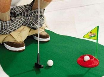 77% off Seven-Piece Potty Putter Golf Set - £6.99