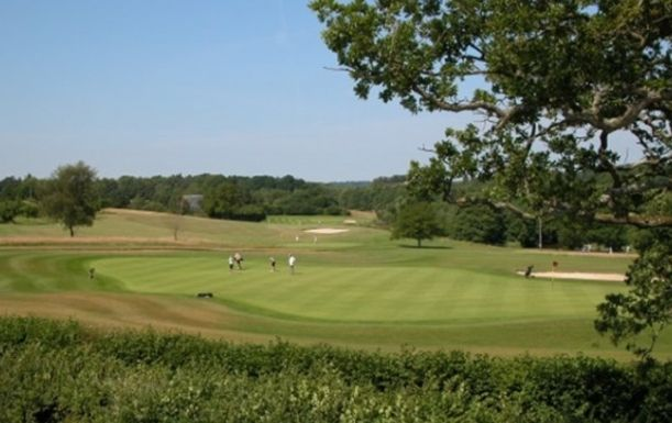 18 Holes of Golf For One, including a Bacon Roll & Hot Drink, plus a Sleeve of 3 Srixon Golf Balls, at Hamptworth Golf & Country Club
