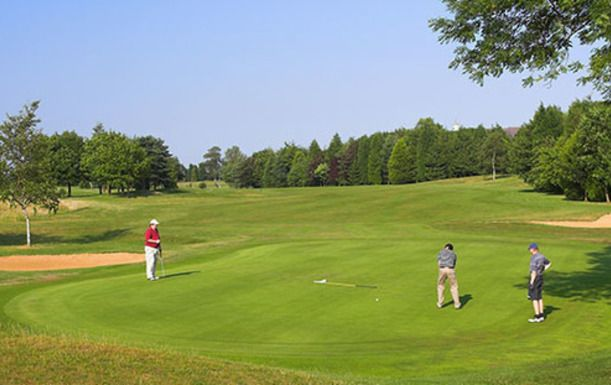 18 Holes of Golf for Two at the Picturesque De Vere Staverton Park