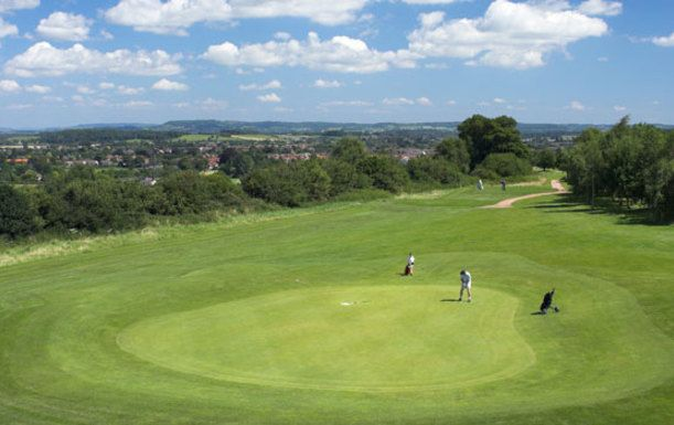 A Days Golf for Two Players at Thornbury Golf Centre.