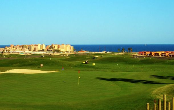 Four Night Stay Including Breakfast plus 3 Rounds of Golf at Sheraton Fuerteventura Beach, Golf & Spa Resort. Travelling Between 15th - 30th April 2016