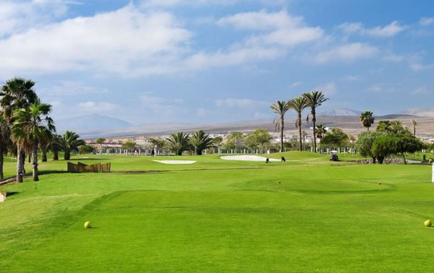 Four Night Stay Including Breakfast plus 3 Rounds of Golf at Sheraton Fuerteventura Beach, Golf & Spa Resort. Travelling Between 1st - 14th April 2016