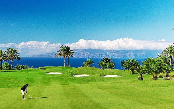 Four Nights Half Board Accommodation, including Three rounds of Golf at Hotel Meliã Hacienda del Conde in Tenerife. Travelling 1st - 30th April 2016