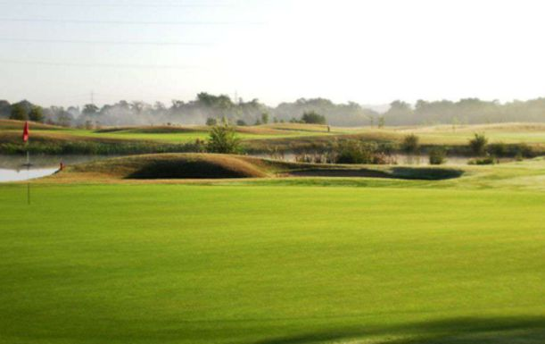 Unlimited Day of Golf for Two including a Bacon Roll and Tea or Coffee each at Traditions Golf Club