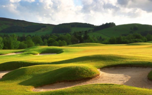 18 Holes for 2 including a Bacon Roll and Tea or Coffee each at The Macdonald Cardrona Hotel, Golf & Spa