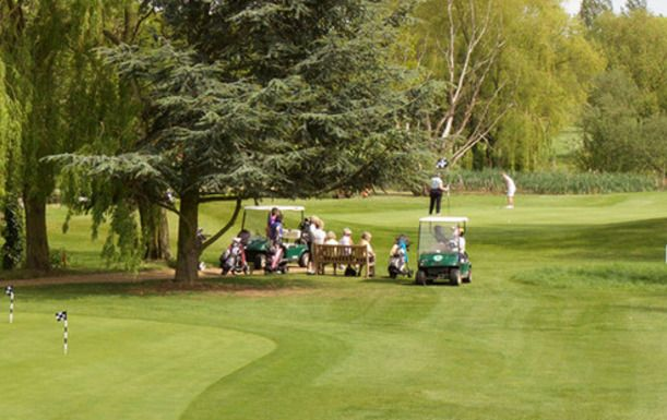 18 Holes of Golf for 2 at Hallmark Cambridge Golf Club & Hotel, including a choice of Full English Breakfast or Light Lunch plus a Tea or Coffee each