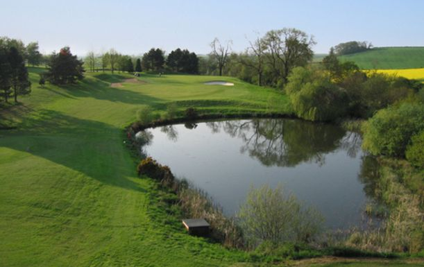 18 Holes For Two With Warm Up Basket of Range Balls Each at the Picturesque De Vere Staverton Park