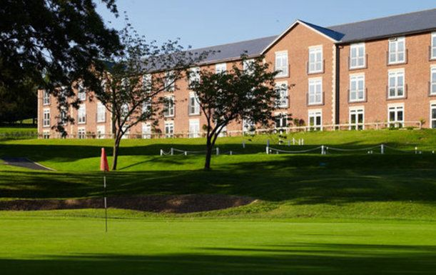 18 Holes for 2 at The Macdonald Hill Valley Hotel, Golf & Spa, including a Bacon Roll and Tea or Coffee plus a Hill Valley ball marker each
