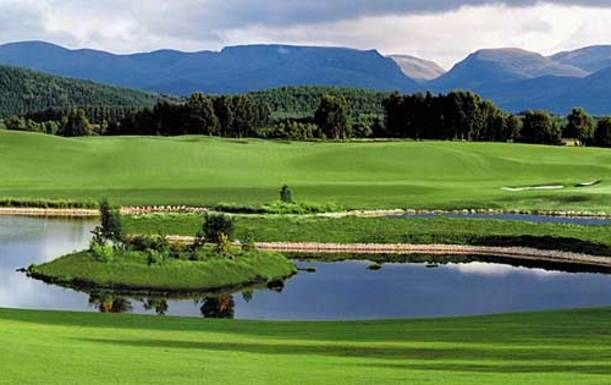 18 Holes for 2 including a Bacon Roll and Tea or Coffee each at The Macdonald Spey Valley Championship Course, plus a Welcome pack to include a Logo Glove & Strokesaver