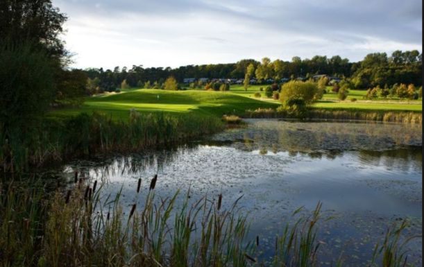 18 Holes for TWO at Belton Woods Golf & Spa. Plus a BONUS a Sleeve of Titleist Balls per pair