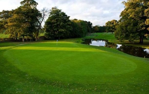 18 Holes for TWO at Mottram Hall Golf Resort. Plus a BONUS Sleeve of Titleist Balls per pair