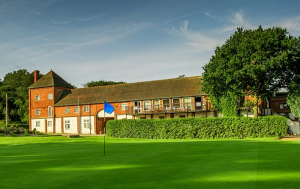 A ONE night Golf Break at Cottesmore Hotel, Golf & Country Club, including Bed and Breakfast plus dinner and TWO rounds of golf. August 2016 Special.