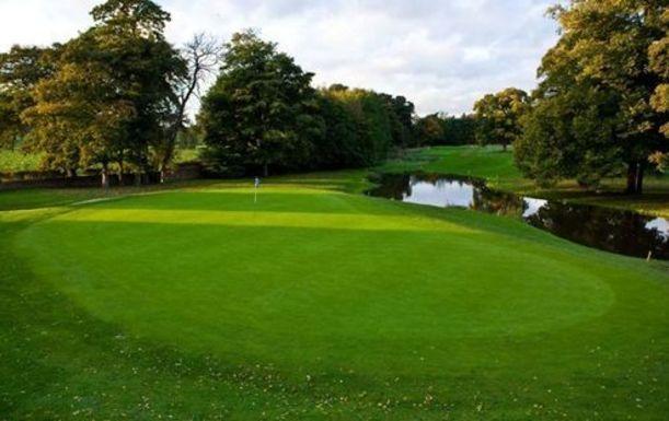 18 Holes for FOUR at Mottram Hall Golf Resort. Plus a BONUS Sleeve of Titleist Balls per pair
