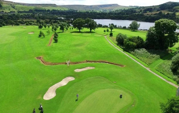 18 Holes For TWO in the beautiful Derbyshire countryside at Chapel-en-le-Frith Golf Club
