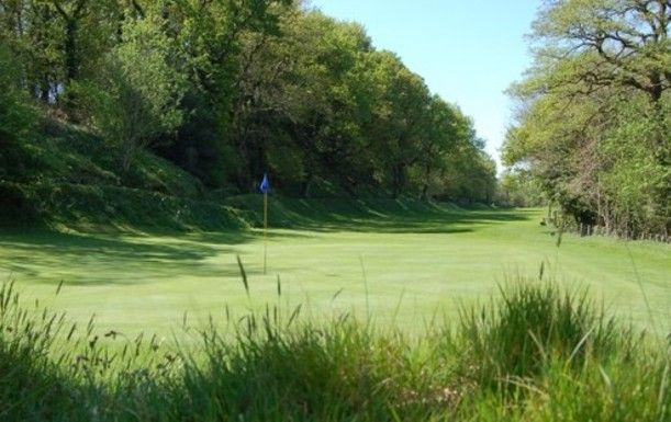 18 Holes for TWO at Okehampton Golf Club, including a sleeve of Titleist balls per pair.