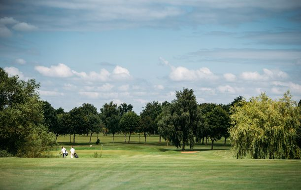 18 Holes For TWO With a Beer or Soft Drink Each at Whitefields Golf Club