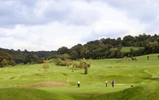 Unlimited Day of Golf for TWO With a Basket of Range Balls Each at Woldingham Golf Club