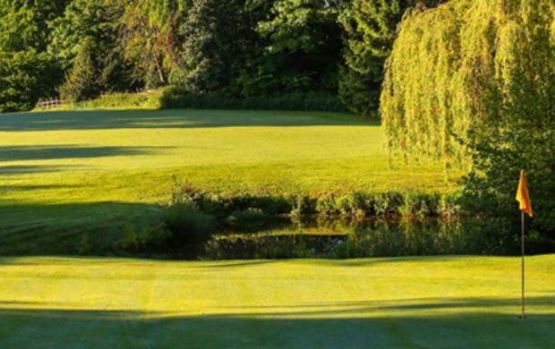 18 Holes for FOUR at The Macdonald Hill Valley Hotel, Golf & Spa Resort, including a Bacon Roll and Tea or Coffee each