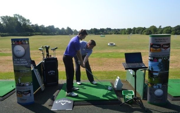 A One Hour Lesson with Matthew Stock including Flightscope anaylisis, at Surrey National Golf Club