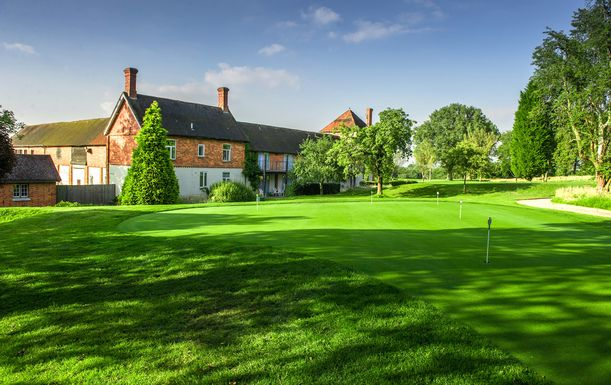 A TWO night Golf Break at Cottesmore Hotel, Golf & Country Club, including Bed and Breakfast plus dinner and THREE rounds of golf. For stays November 2016 to February 2017