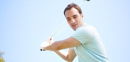 60-Minute Golf Range Lessons with Moore Golf (Up to 75% Off)