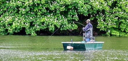 Trout Fishing with Boat Hire and Breakfast for One or Two at Patshull Park Hotel Golf & Country Club (Up to 46% Off)