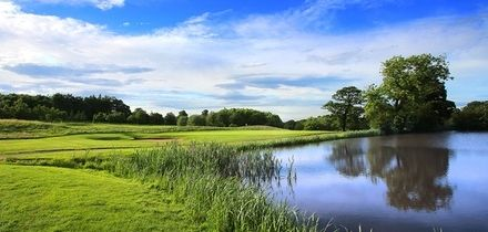 18 Holes Golf with One Golf Sleeve for Two or Two Sleeves for Four at Oulton Hall Hotel