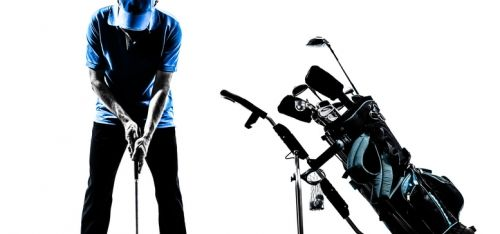 £29 for a one-hour golf lesson for one on Skytrak, £39 with nine holes on the golf simulator from Scotland For Golf, St Andrew's - save 59%