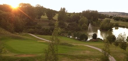 18 Holes of Golf with NXT Sleeve for Two or Four at Forest Pines Hotel & Golf Resort