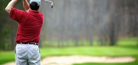 18 Holes of Golf for Up to Four with 50 Range Balls and Bacon Roll Each at St Kew Golf Club