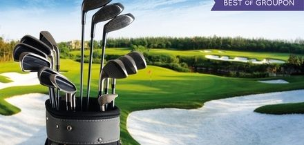 18 Holes of Golf with Bacon Roll and Coffee for Two or Four at Wildwood Golf and Country Club (Up to 76% Off)