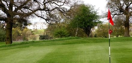 18 Holes of Golf With 60 Range Balls and Full English Breakfast from £10 at Bushey Country Club (Up to 64% Off)
