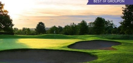 18 Holes of Golf Plus Titleist Golf Sleeve for Two or Four at Belton Woods