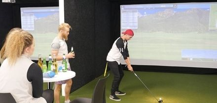 One-Hour Golf Simulator Hire for Up to Four at Fairweather Golf (Up to 54% Off)
