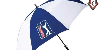 PGA Tour 62'' Windproof Double Canopy Umbrella for £12.98 (48% Off)