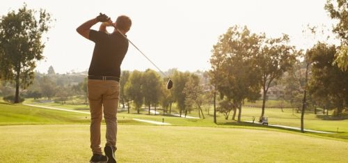 £29 for a weekday round of golf for two, £56 for four people, or £33 for a weekend round of golf for two, £63 for four people at Shrigley Hall Hotel