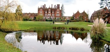 18 Holes of Golf Plus Titleist Golf Sleeve for Two or Four at Dunston Hall