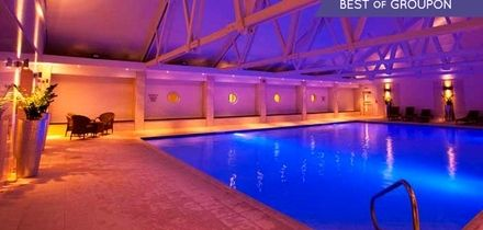 Spa Pass with Two Treatments, Drink and Towel Hire for One or Two at Telford Hotel and Golf Resort